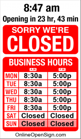 Business Hours for