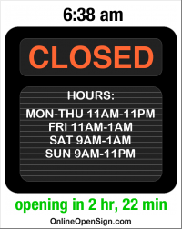 Business Hours