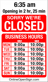 Business Hours for rodann%20door%20chimes