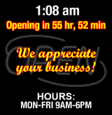 Business Hours for Monster%20Performance%20Center