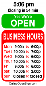 Business Hours for The%20Computer%20Guy