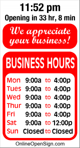 Business Hours for Hays%20Heating%20and%20Cooling