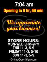 Business Hours for Manpasand