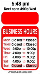 New Business Hours for BPOE%20Lodge%202634