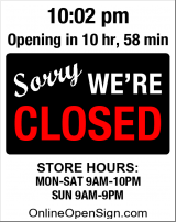 Business Hours for Dik%27s%20Market%20House