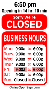 Business Hours for MG%20Drain%20Cleaning%20Services