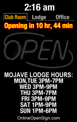 Business Hours for Mojave%20Elks%20Lodge