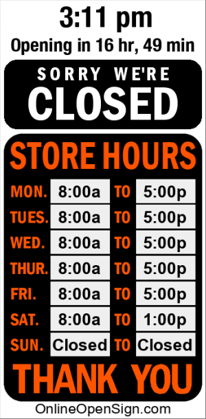 Business Hours for Eclipse%20Auto%20Care