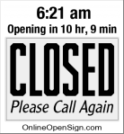 Business Hours for Chiba
