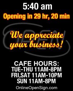 Business Hours for Ralph%20and%20Ava%27s%20Cafe%20