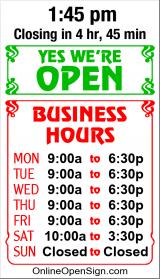 Business Hours for PARCEL%20PLUS