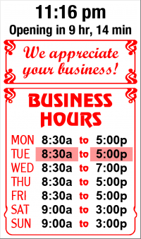 Business Hours for Amana%20Medical%20Center
