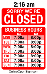 Business Hours for Harvey%20Properties