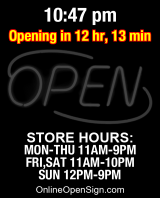 Business Hours for Rucks%20Pizza%20Kitchen