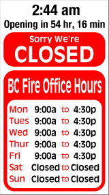 Business Hours for Blount%20County%20Fire%20Protection