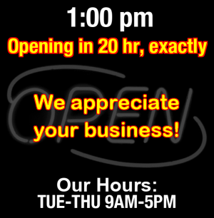 Business Hours for FAB%20Audio
