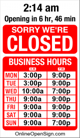 Business Hours for Maryborough%20Tenpin%20Bowl