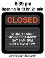 Business Hours for Alliance%20Pharmacy