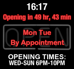 Business Hours for Memphis%20Restaurant