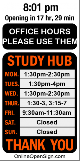 Business Hours for Education%20Kapiolani%20CC