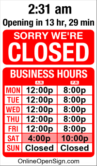 Business Hours for Sigil%20Social%20Network