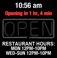 Business Hours for Tripoli%20Restaurant