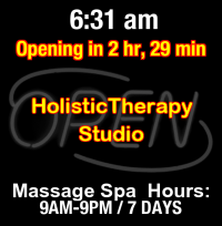 Business Hours for Holistic%20Therapy%20Studio