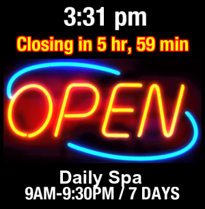 Business Hours for Daily%20Spa