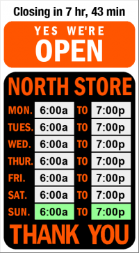 Business Hours for Tight%20Lines%20Bait%20