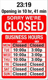 Business Hours for ISLAND%20MILL%20Tiles%20%26%20Flooring